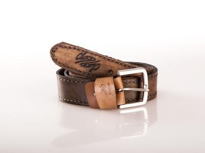 Cinturón con pespunte